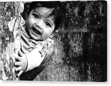 Peek A Boo  Canvas Print by Priyanka  Gopakumar