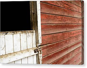 Canvas Print featuring the photograph Peeling Paint by Lorraine Devon Wilke