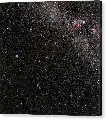 Pegasus Constellation Canvas Print by Eckhard Slawik