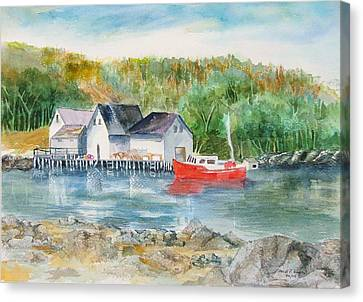 Peggy's Cove II Canvas Print