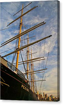 Peking Canvas Print by Mike Horvath
