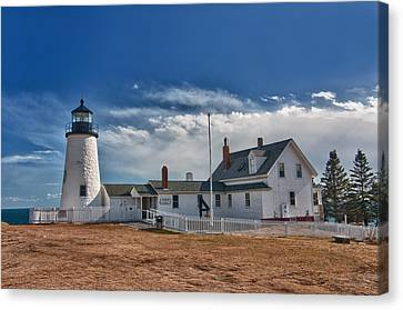 Pemaquid Point Lighthouse 4800 Canvas Print by Guy Whiteley