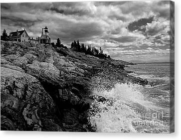 Pemaquid Point Lighthouse Canvas Print by Keith Kapple