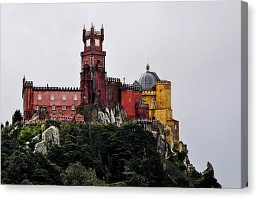Pena Palace - Sintra Canvas Print by Armando Carlos Ferreira Palhau