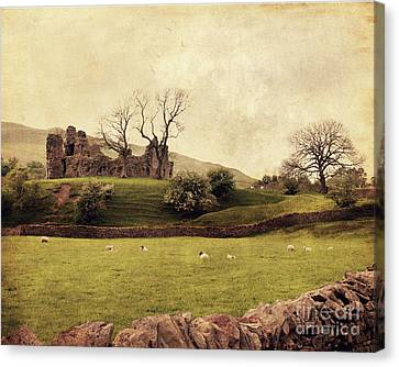 Pendragon Castle Canvas Print
