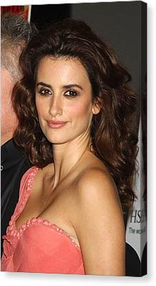 Penelope Cruz At Arrivals For Screening Canvas Print by Everett