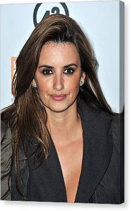 Penelope Cruz At Arrivals For The New Canvas Print by Everett