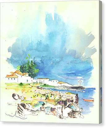 Peniche In Portugal 10 Canvas Print by Miki De Goodaboom