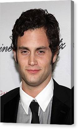 Cipriani Restaurant Wall Street Canvas Print - Penn Badgley At Arrivals For The 2009 by Everett