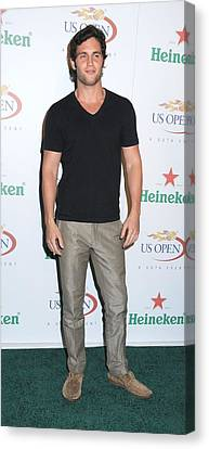 Penn Badgley At Arrivals For Usta Canvas Print by Everett