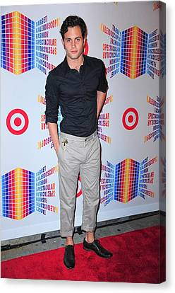 Penn Badgley In Attendance For Target Canvas Print by Everett