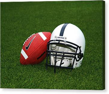 Penn State Football Helmet Canvas Print by Joe Rokita