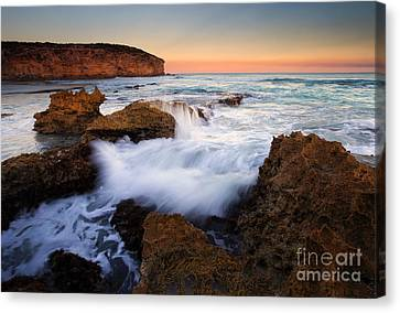Pennington Pastel Sunset Canvas Print by Mike  Dawson
