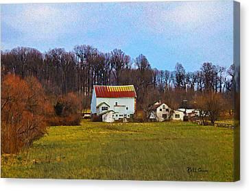 Pennsylvaina Farm Scene Canvas Print by Bill Cannon