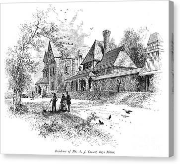 Pennsylvania: House, 1876 Canvas Print by Granger