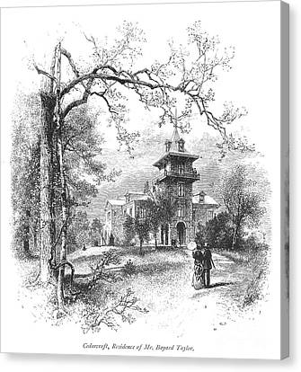 Pennsylvania: Mansion Canvas Print by Granger