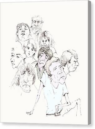 People 02 Canvas Print