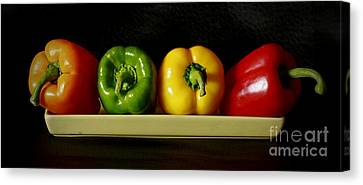 Pepper Delight Canvas Print by Inspired Nature Photography Fine Art Photography