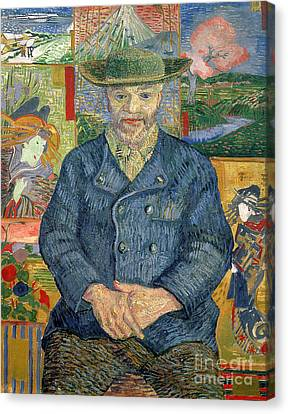 Pere Tanguy Canvas Print by Vincent van Gogh