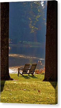 Perfect Morning Place Canvas Print by Bill Cannon