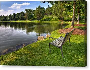 Perfect Spot To Rest Canvas Print