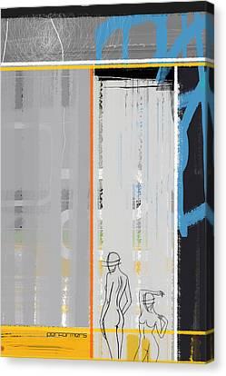 Brush Canvas Print - Performers by Naxart Studio