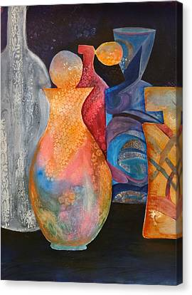 Perfume Bottles 1 Canvas Print