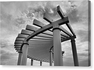 Canvas Print featuring the photograph Pergola by Brian Hughes