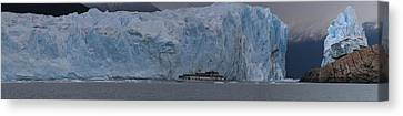 Canvas Print featuring the photograph Perito Moreno by Andrei Fried