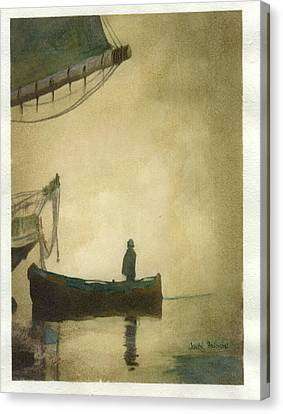 Permission To Board Canvas Print