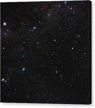 Perseus Constellation Canvas Print by Eckhard Slawik