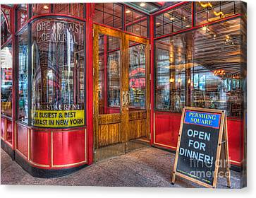 Pershing Square Central Cafe IIi Canvas Print by Clarence Holmes