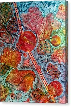 Persian Treasures Canvas Print by David Raderstorf