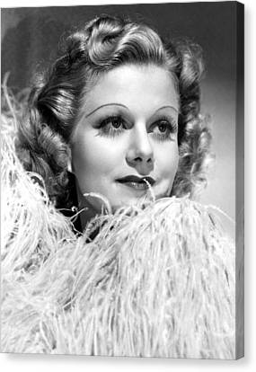 Personal Property, Jean Harlow, 1937 Canvas Print by Everett