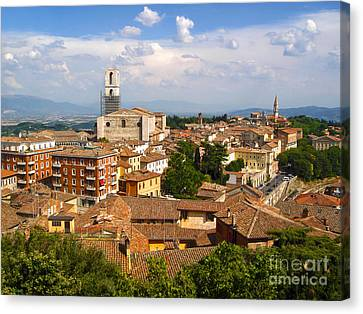 Perugia Italy - 02 Canvas Print by Gregory Dyer