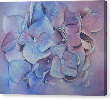 Petals Canvas Print by Patsy Sharpe