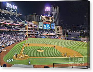 Petco Park San Diego Padres Canvas Print by RJ Aguilar
