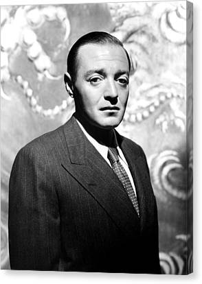 Peter Lorre, 1944 Canvas Print