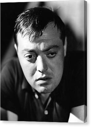 Peter Lorre, Ca. Early 1940s Canvas Print