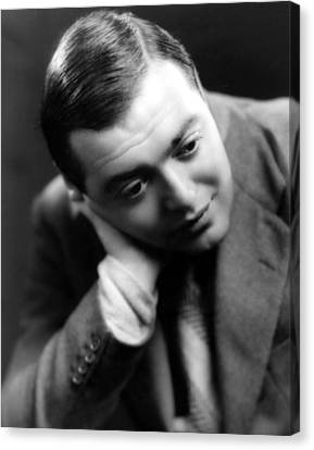 Peter Lorre, Photo Dated 1935 Canvas Print