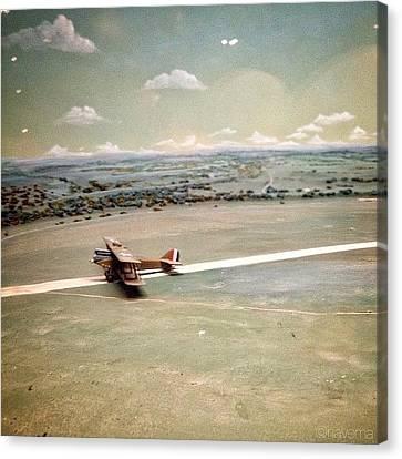 Petite Plane Canvas Print