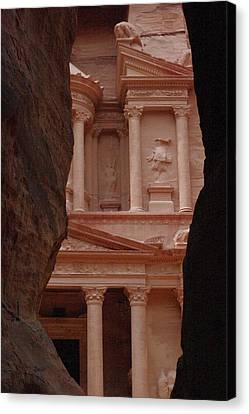 Petra Canvas Print by David George