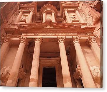 Petra, The Treasure Canvas Print by Manuel Chagas Fotografia