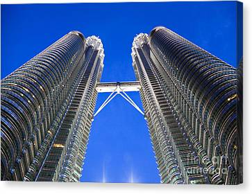 Petronas Tower Bridge Detail Canvas Print