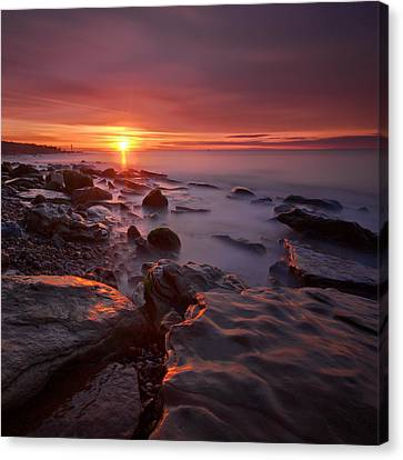 Stopper Canvas Print - Pett Square by Mark Leader