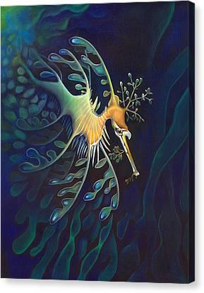Phantasmagoric Conception Canvas Print by Sym