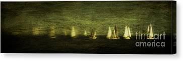 Phantom Fleet Canvas Print by Andrew Paranavitana