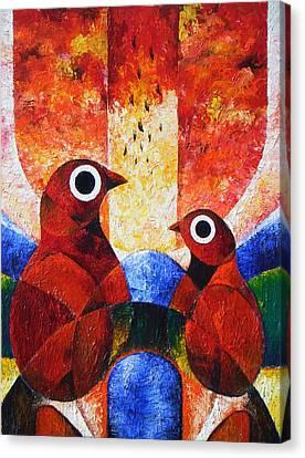 Phenomenon I Canvas Print by Harold Bascom