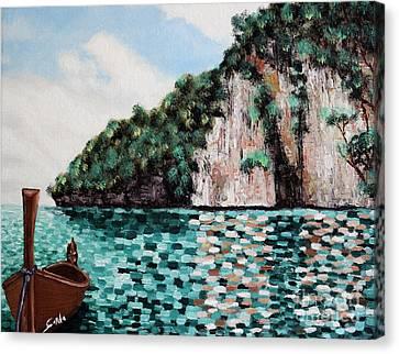 Phi Phi Island Canvas Print by Seth Corda
