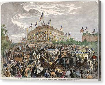 Philadelphia Expo, 1876 Canvas Print by Granger